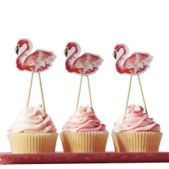 Cake toppers - Flamingo