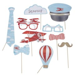 Photobooth props kit - Flygplan