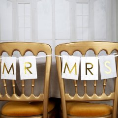 Stolsvimpel - Mr & Mrs Marmor