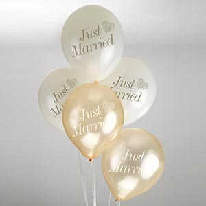 Ballonger - Just married guld