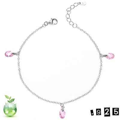 Armband - Sterling pink