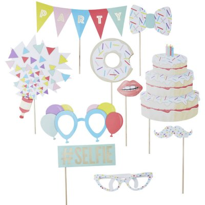 Photobooth props kit - Party