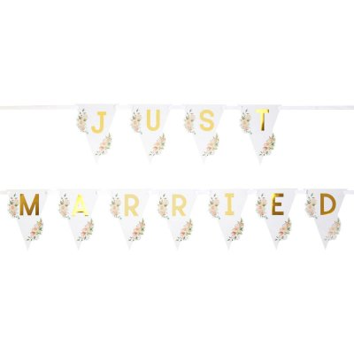Bilvimpel - Just married Floral