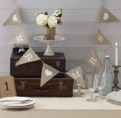 Vimpel - Rustic Mr & Mrs
