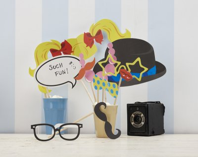 Photobooth props kit - Such fun!
