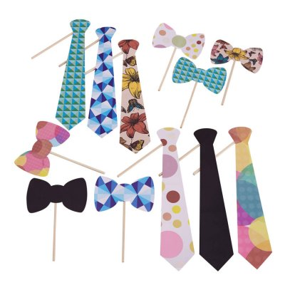 Photobooth props kit - Ties!