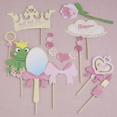 Photobooth props kit - Princess