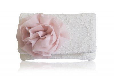 Emma Gordon - Cherish blush flower coin purse