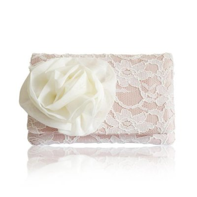 Emma Gordon - Cherish blush lace coin purse