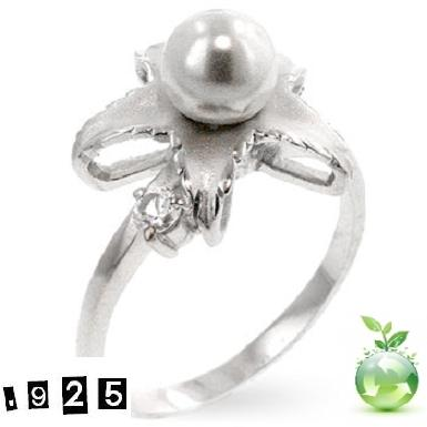 Ring - Pearl cocktail stl 5