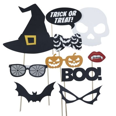 Photobooth props kit - Halloween