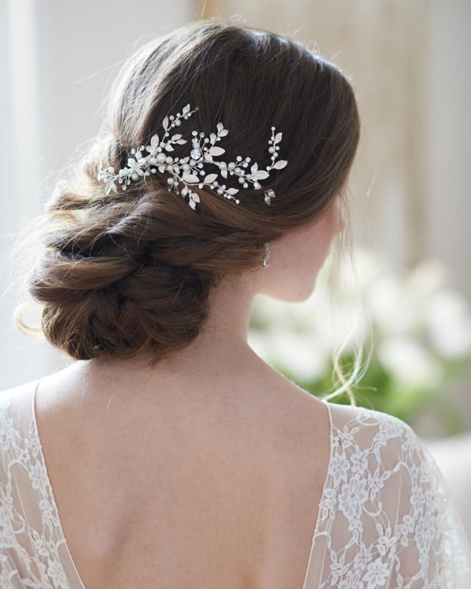 håraccessoarer till bröllop